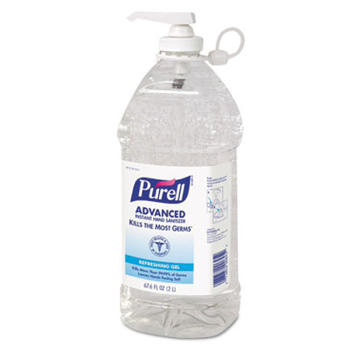 PURELL Advanced Instant Hand Sanitizer, 2L Bottle (GOJ962504EA)