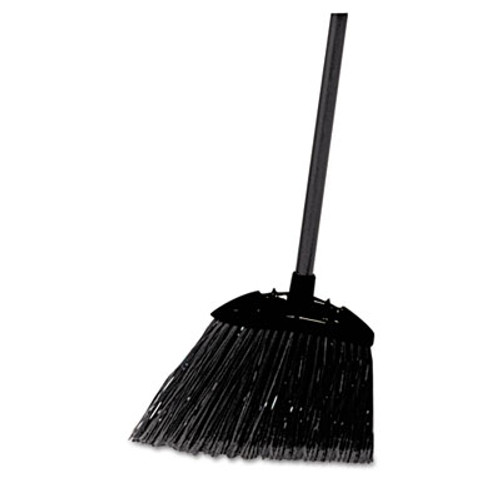 "Rubbermaid Commercial Lobby Pro Broom, Poly Bristles, 35"" Metal Handle, Black (RCP 6374)"