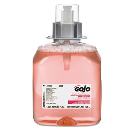 GOJO FMX-12 Foam Hand Wash, Cranberry, FMX-12 Dispenser, 1250mL Pump, 3/Carton (GOJ 5161-03)