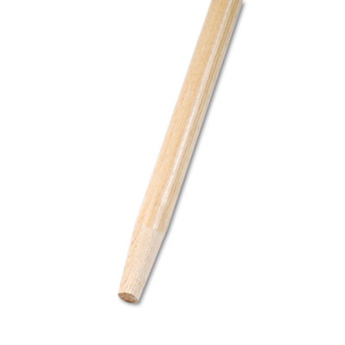 Boardwalk Tapered End Broom Handle, Lacquered Hardwood, 1 1/8 Dia. x 60 Long (BWK 125)