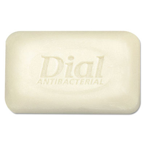 Dial Antibacterial Deodorant Bar Soap, Unwrapped, White, 2.5oz, 200/Carton (DIA 00098)