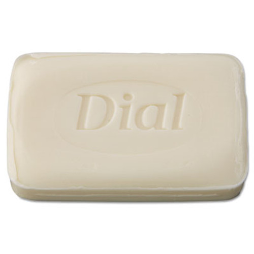 DialA Individually Wrapped Deodorant Bar Soap, White, # 3 Bar, 200/Carton (DIA 00197)