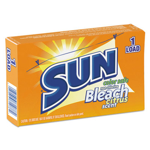 SUN Color Safe Powder Bleach, Vend Pack, 1 load Box, 100/Carton (VEN 2979697)
