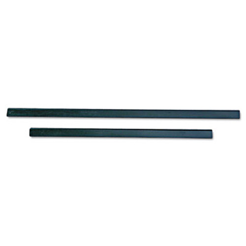 "Unger ErgoTec Replacement Squeegee Blades, 12"" Wide, Black Rubber, Soft (UNG RT30)"