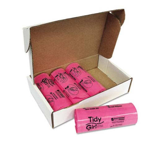 Tidy Girl Tidy Girl Feminine Hygiene Sanitary Disposal Bags, 150/Roll, 4 Rolls/Carton (STO TGUF)