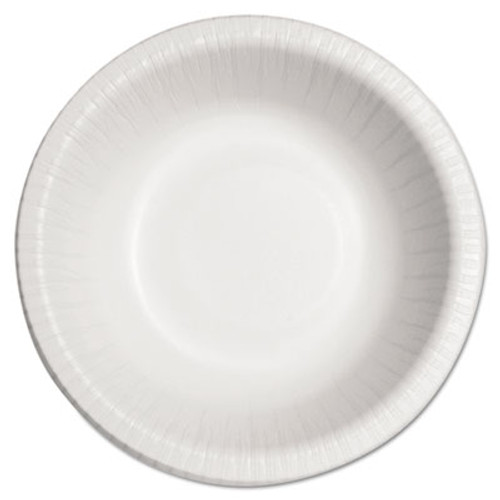 SOLO Cup Company Bare Eco-Forward Clay-Coated Paper Dinnerware, Bowl, 12oz, 125/Bag, 8/CT (SCC HB12B)