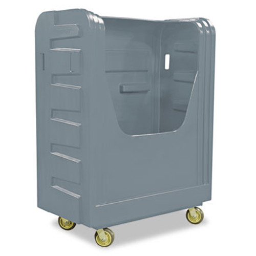 Royal Basket Trucks Bulk Transport Truck, 28 x 50 1/2 x 66 3/4, 800 lbs. Capacity, Gray (RBT R48GRXBF6UN)