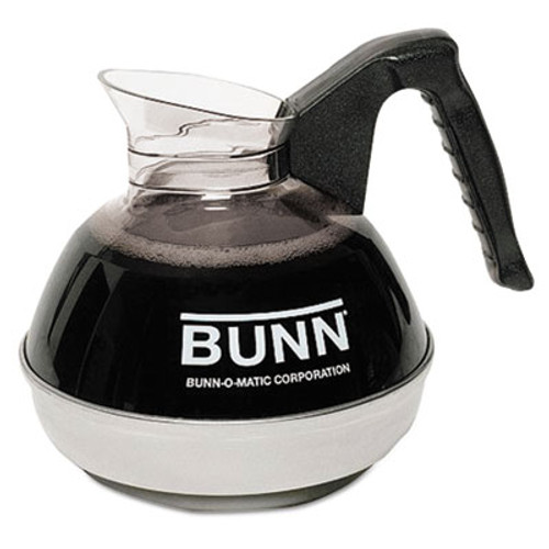 BUNN 64 oz. Easy Pour Decanter, Black Handle (BNN 6100)