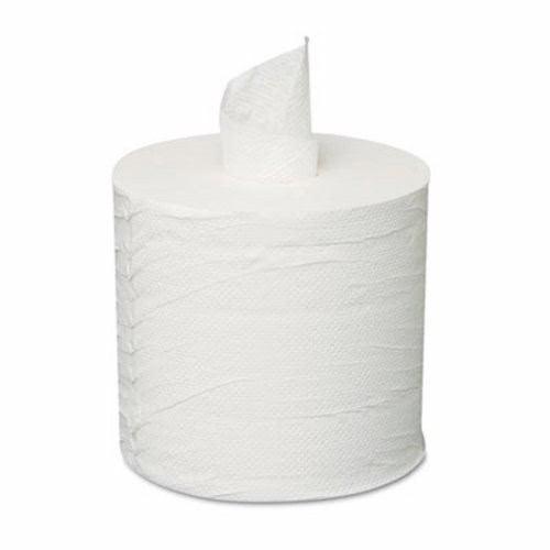 GEN Center-Pull Roll Towels, 2-Ply, White, 8 x 10, 600/Roll, 6 Rolls/Carton (GEN CPULL)