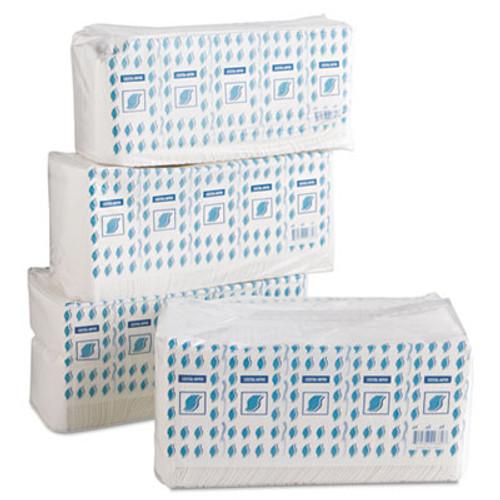 GEN Cocktail Napkins, 1-Ply, 9w x 9d, White, 500/Pack, 8 Packs/Carton (GEN COCKTAIL-NAP)