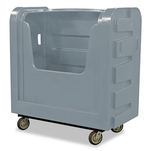 Royal Basket Trucks Bulk Transport Truck, 28 x 50 1/2 x 54 3/4, 800 lbs. Capacity, Gray (RBT R36GRXBF6UN)