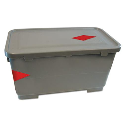 Boardwalk Microfiber Charging Bucket, 6 gal, Polypropylene, Gray, 11 x 21 x 11 1/2 (BWK CBMF6GY)