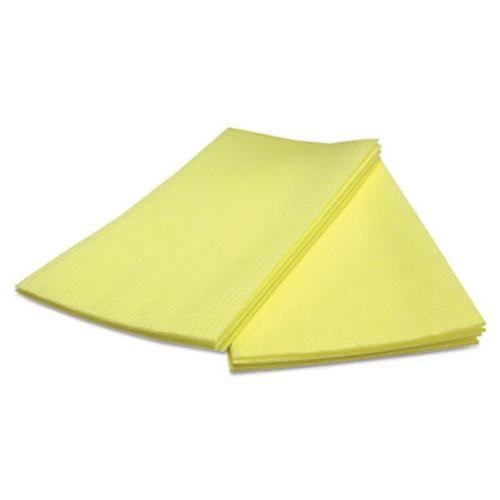 Cascades Busboy Durable Foodservice Towels, Yellow, 12 x 24, 150/Carton (CSD 33600)