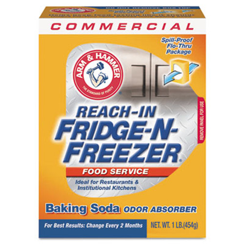 Arm & Hammer Fridge-n-Freezer Pack Baking Soda, Unscented, Powder (CDC3320084011)