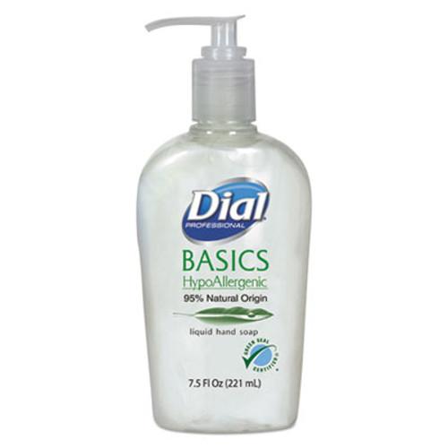 DialA Basics Liquid Hand Soap, 7.5 oz, Fresh Floral (DIA06028)
