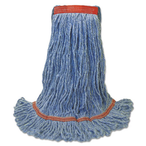Boardwalk Blue Dust Mop Head, Medium, Looped End (BWK 503BLNB)