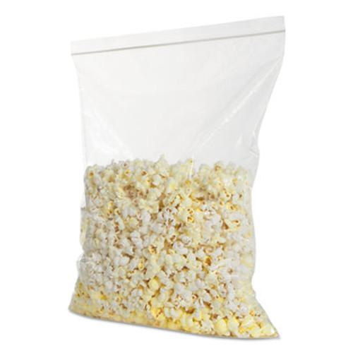 BagCo Zippit Resealable Bags, 4 mil, 12w x 15h, Clear, 100 Pack, 5 Packs/Carton (MGP MGZ4P1318)