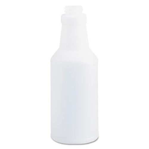 Boardwalk Handi-Hold Spray Bottle, 16 oz, Clear, 24/Carton (BWK00016)