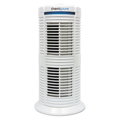 Therapure TPP220M HEPA-Type Air Purifier, 70 sq ft Room Capacity, Three Speeds, White (ION90TP220TW01W)
