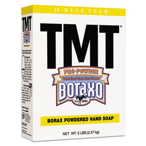 Boraxo TMT Powdered Hand Soap, Unscented Powder, 5lb Box (DIA02561EA)