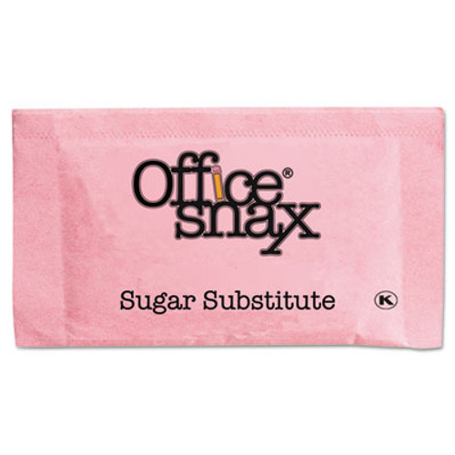 Office Snax Pink Sweetener, 2000 Packets/Carton (OFX00061)