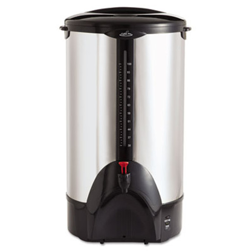 Coffee Pro 100-Cup Percolating Urn, Stainless Steel (OGFCP100)