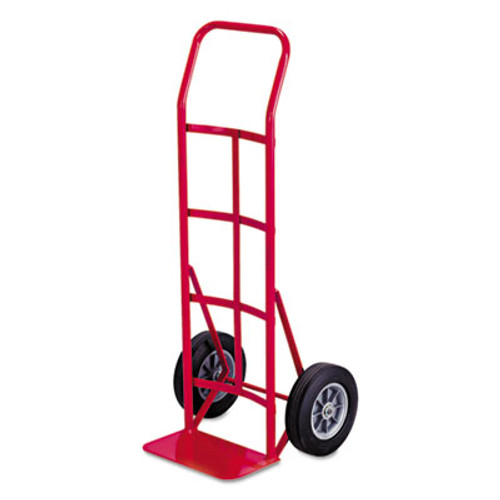 Safco Two-Wheel Steel Hand Truck, 500lb Capacity, 18 x 44, Red (SAF4092)