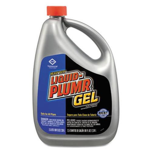 Liquid Plumr Heavy-Duty Clog Remover, Gel, 80oz Bottle (CLO35286EA)