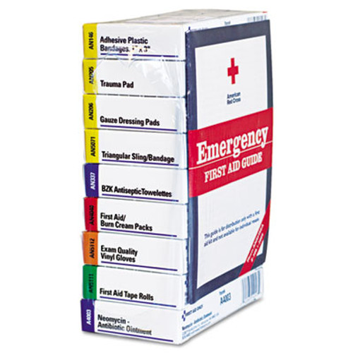 First Aid Only ANSI Compliant 10 Person First Aid Kit Refill, 63-Pieces (FAO740010)
