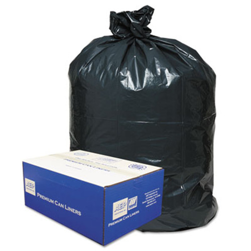 Classic 2-Ply Low-Density Can Liners, 30gal, .71 Mil, 30 x 36, Black, 250/Carton (WBI303618B)