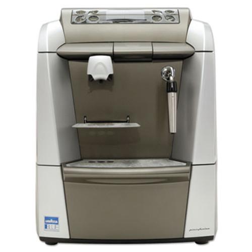 Lavazza BLUE 2312 Espresso/Cappuccino Machine, 1-Gal Tank, Silver/Gray,18.6x12.9x15.4 (LAV2312)