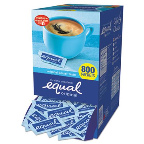 Equal Zero Calorie Sweetener, 0.035 oz Packet, 800/Box (EQL885328)