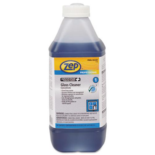Zep Professional Advantage+ Concentrated Glass Cleaner, 67.6 oz Bottle (ZPER35501EA)