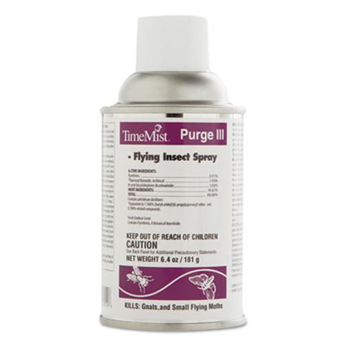 TimeMist Clean Air Purge III Metered Aerosol Refill, 6.4 oz, 12/Carton (TMS342050TM)