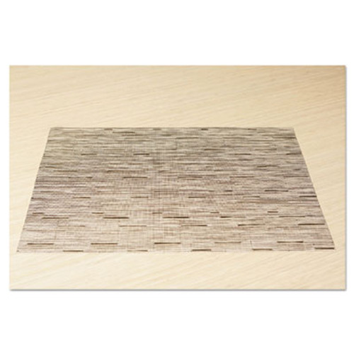Office Settings Placemats, 17 x 12, Oatmeal, 12/Box (OSIVPMOT)