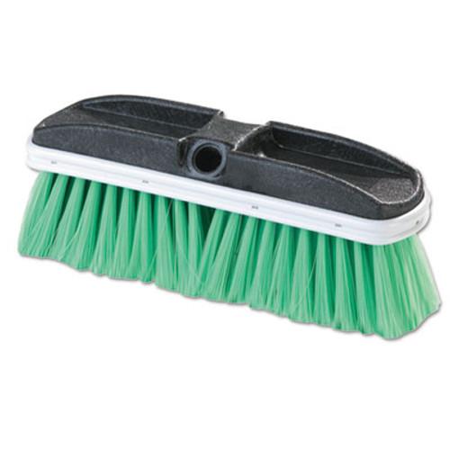 "Flo-Pac Vehicle Brush, Nylex, Green Bristles, 10"", 2 1/2"" Bristles (CFS3646875)"