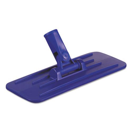 Boardwalk Swivel Pad Holder, Plastic, Blue, 4 x 9, 12/Carton (BWK00405)