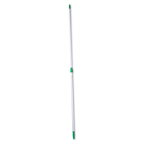 Unger Opti-Loc Aluminum Extension Pole, 24 ft, Three Sections, Green/Silver (UNGED750)