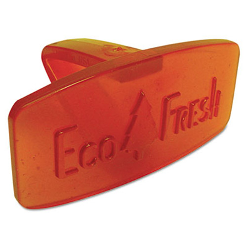 Boardwalk Eco-Fresh Bowl Clip, Mango Scent, Orange, 12/Box (BWKCLIPMAN)