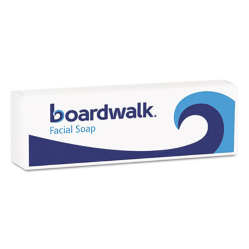 Boardwalk Face and Body Soap, Flow Wrapped, Floral Fragrance, .5oz Bar, 1000/Carton (BWKNO12SOAP)