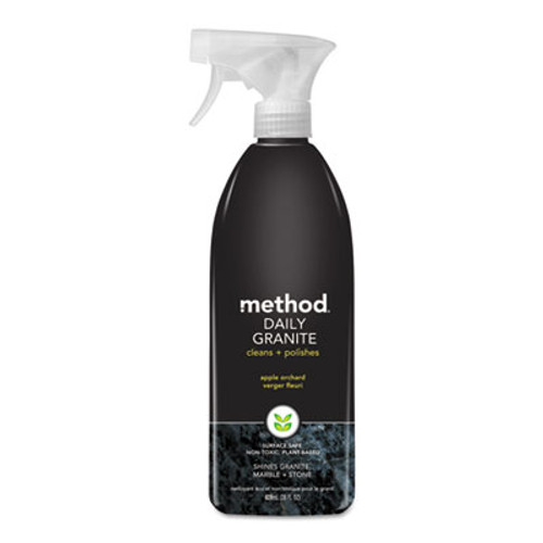 Method Daily Granite Cleaner, Apple Orchard Scent, 28 oz Spray Bottle, 8/Carton (MTH00065CT)