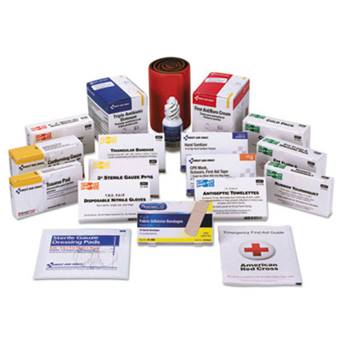 First Aid Only Unitized ANSI Compliant First Aid Kit Refill, Class B, 100 People, 217 Pieces (FAO90584)