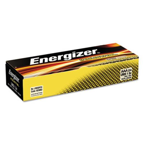 Energizer Industrial Alkaline Batteries, AAA, 24 Batteries/Box (EVEEN92)