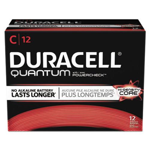 Duracell Quantum Alkaline Batteries with Duralock Power Preserve Technology, C, 72/Carton (DURQU1400)
