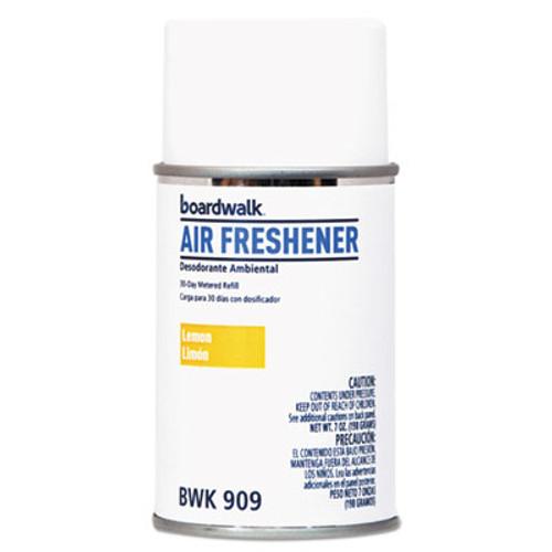 Boardwalk Metered Air Freshener Refill, Lemon Peel, 5.3 oz Aerosol, 12/Carton (BWK909)