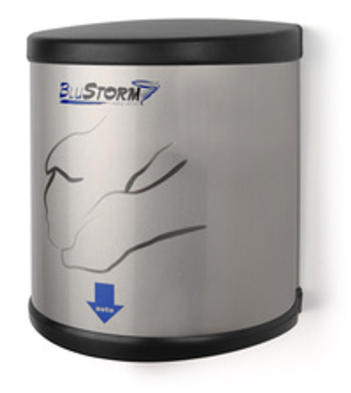 Palmer Fixture BluStorm High Speed Hand Dryer - Brushed Stainless
