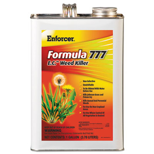 Enforcer Formula 777 E.C. Weed Killer, Non-Cropland, 1 gal Can, 4/Carton (AMR1048550)