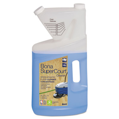 Bona SuperCourt Cleaner Concentrate, 1 gal Bottle (BNAWM700018184)