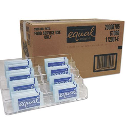 Equal Zero Calorie Sweetener, 0.035 oz Packet, 2000/Carton (EQL827553)