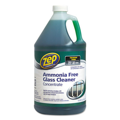 Zep Commercial Ammonia-Free Glass Cleaner, Agradable Scent, 1 gal Bottle (ZPE1041682)